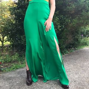 Show Me Your MuMu Smooth Flowing Wide Leg Pants